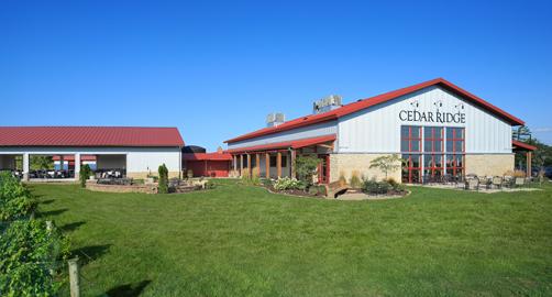 Cedar ridge vineyards swisher ia for Cedar ridge storage