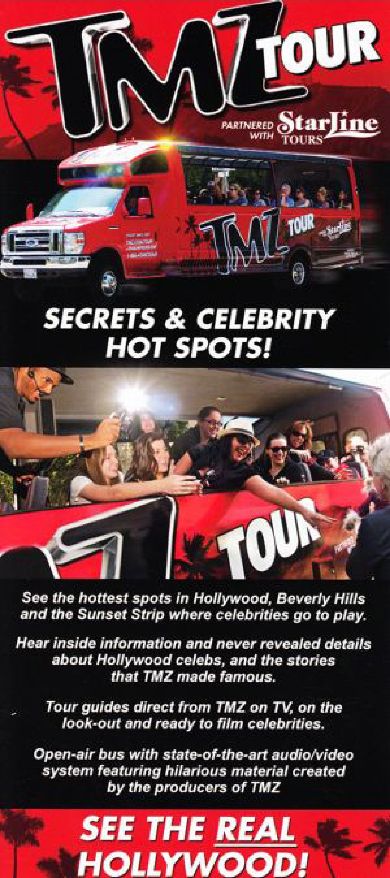 Starline tours tmz tour for Tmz tours in los angeles