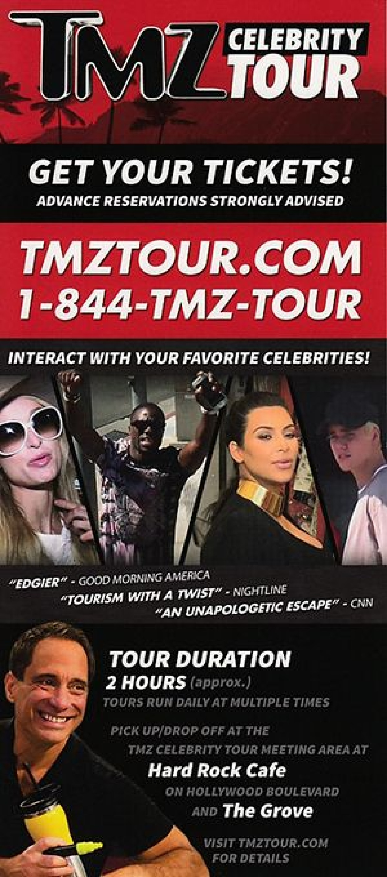 Tmz celebrity tour los angeles ca for Tmz tours in los angeles