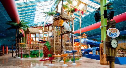 Sahara Sams Indoor And Outdoor Oasis Water Park Berlin