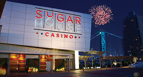 Sugarhouse casino vip lounge